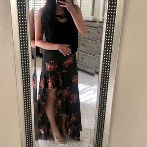 Stillwater High Low Maxi Skirt